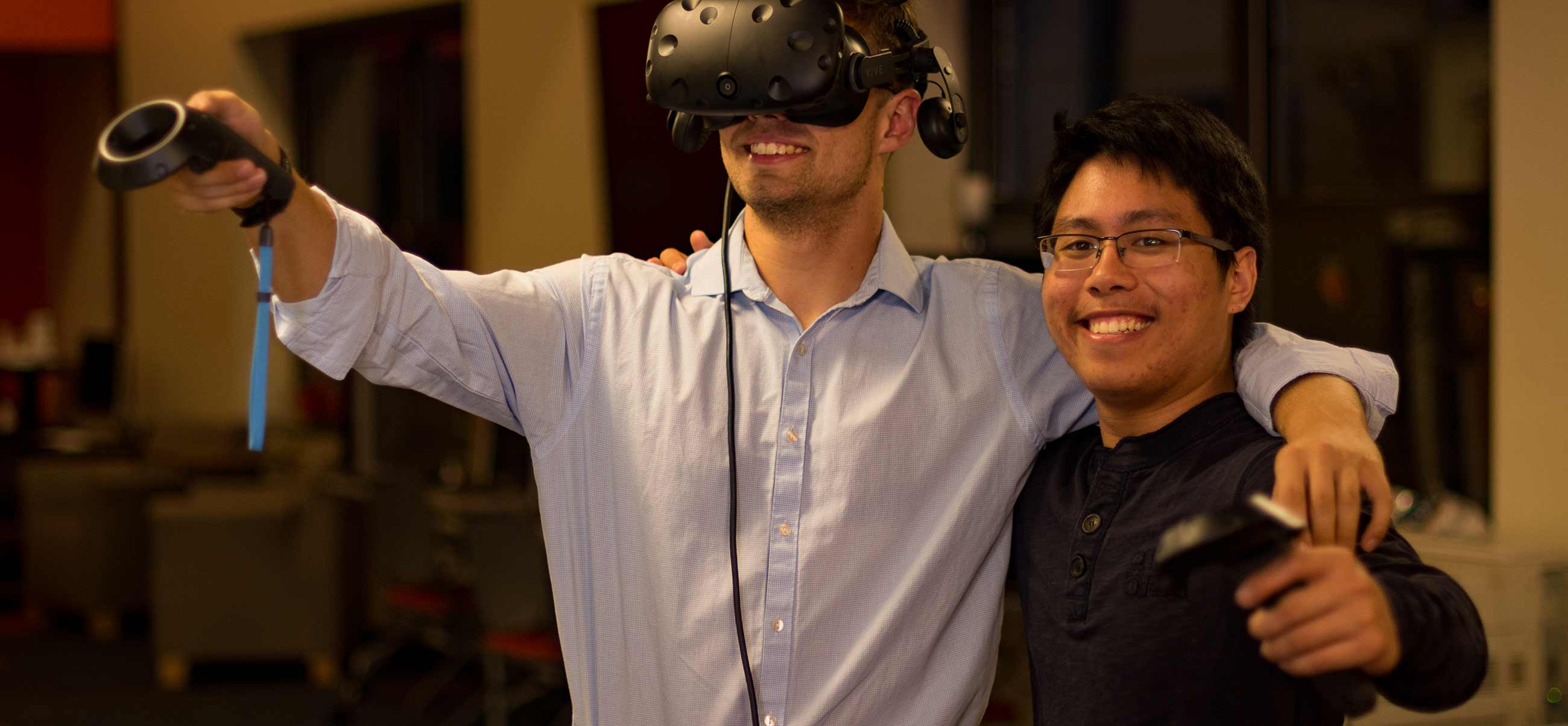 Computer science majors augment historic exploration through virtual reality projects