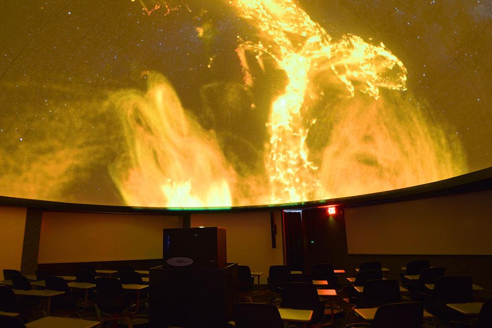 Hatter Planetarium - Physics - Gettysburg College