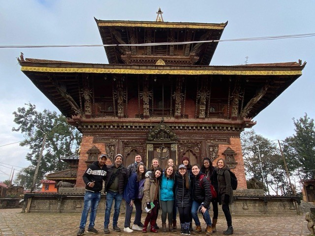 Students travel to Nepal with Professor for immersion trip