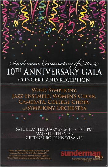 10th Anniversary Celebration Gala Concert
