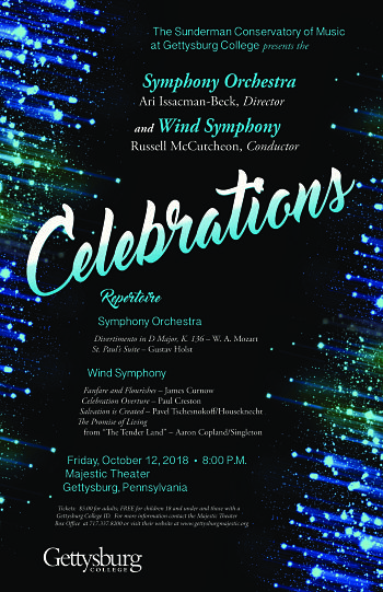 Celebrations: Symphony Orchestra and Wind Symphony Concert