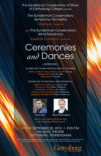 Ceremonies and Dances: Wind Symphony and Symphony Orchestra Concert