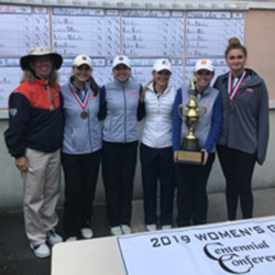 Women's golf team wins ninth-straight Centennial Conference Championship