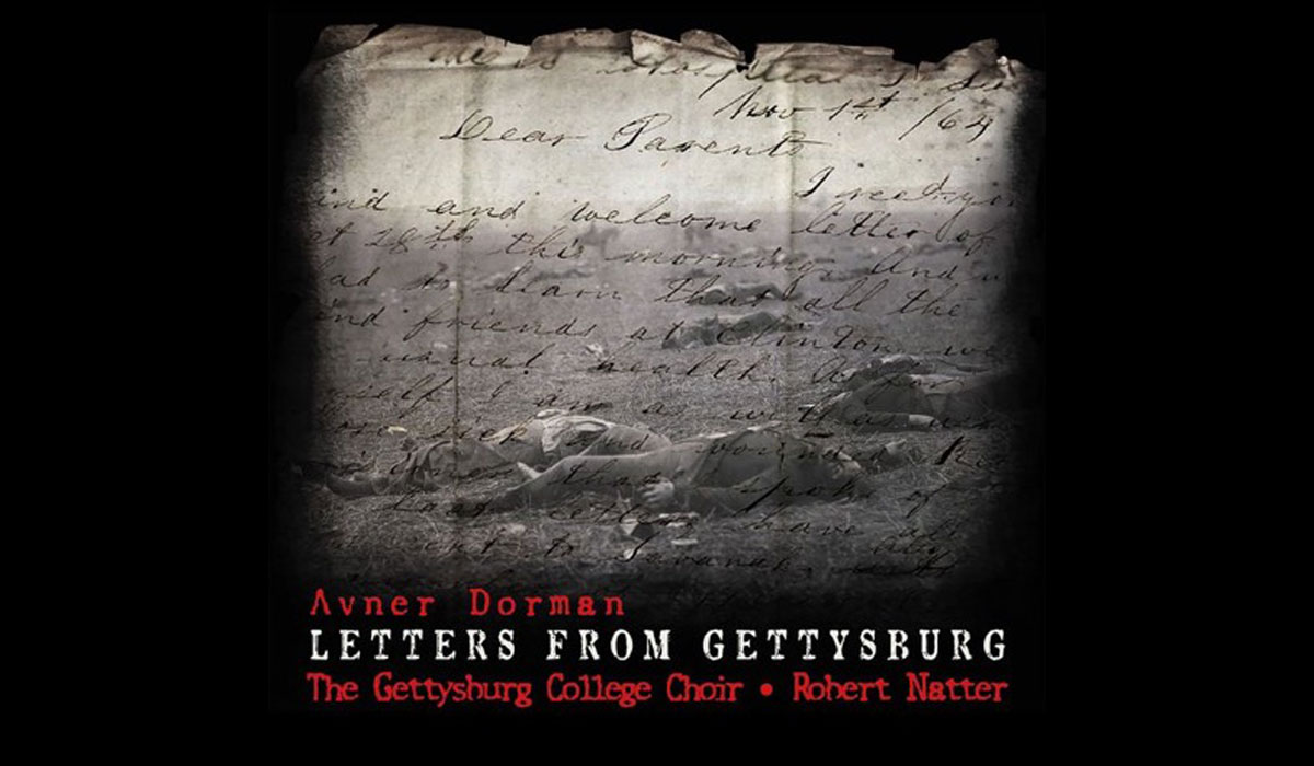 "Wall Street Journal reviews ""Letters From Gettysburg"""
