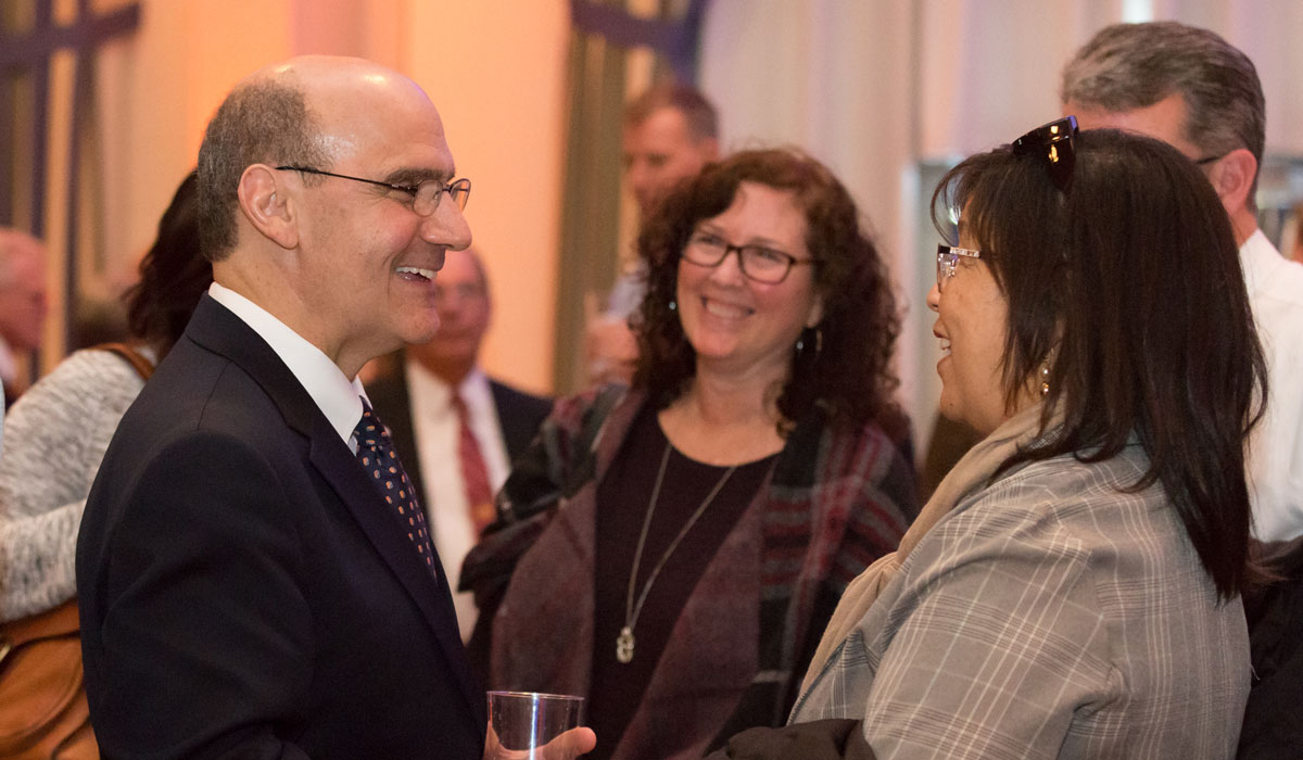 College celebrates 15th President, new beginnings