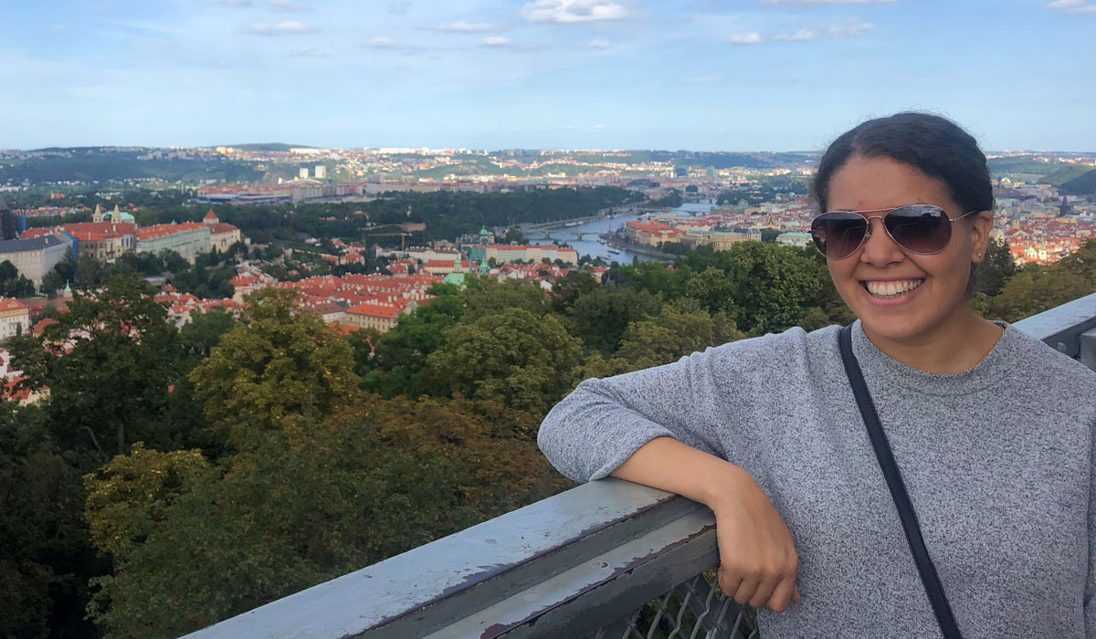 In the words of Sidney Caccioppoli '21: studying abroad in Madrid and Prague