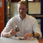 Tyler Mitchell '20 creates potentially revolutionary medical device in Gettysburg Innovation Lab