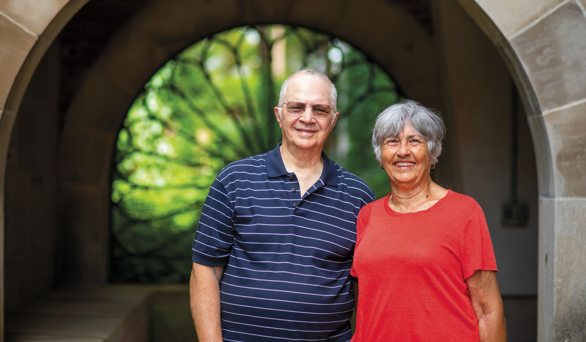 Connections: Peter '60 and Pamela Casagrande