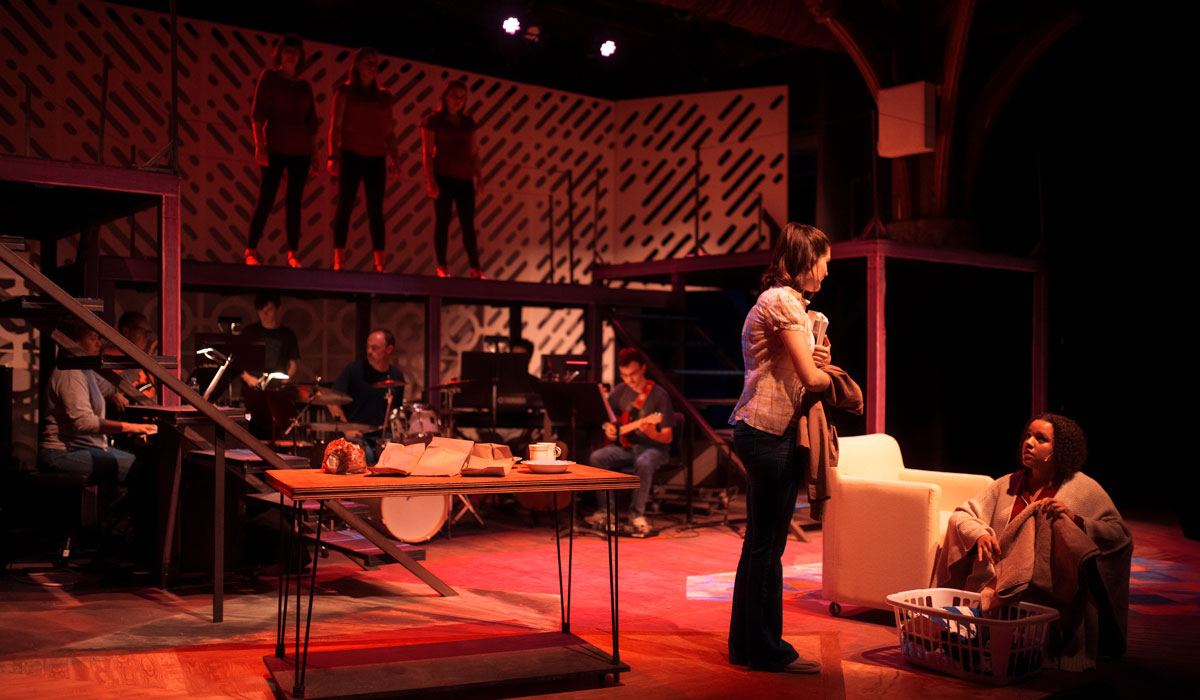 Fall musical Next to Normal kicks off Family Weekend