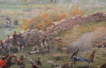 Gettysburg Cyclorama Painting Becomes Focus of Student Digital Projects
