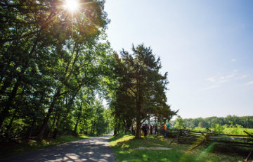 A High Energy Option for 2020 Summer Conference Participants: Sharpshooting at Gettysburg