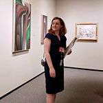 National Gallery of Art's Emily Ann Francisco '14 found passion for art, its interconnectedness with people at Gettysburg