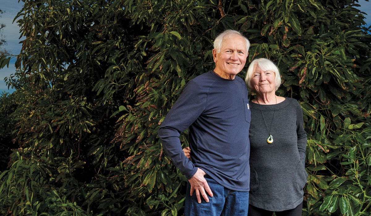 Connections: Bob '60 and Brenda Parry