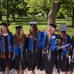 Women's lacrosse seniors 'on to greatness' after graduating in Special Commencement Ceremony