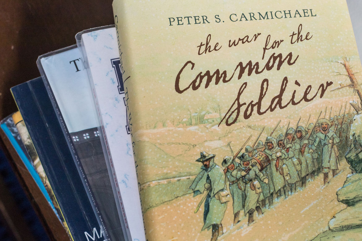 18 books published by Gettysburg professors in 2018