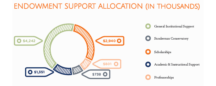 endowment support allocation