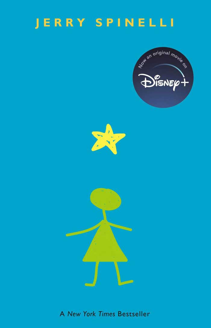 Stargirl book cover with graphic artwork