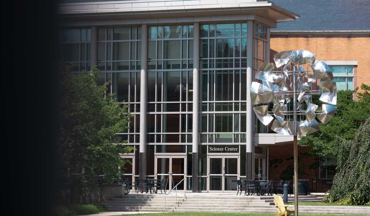 Gettysburg College science center