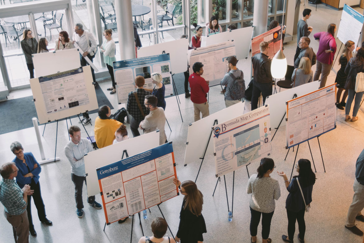 5th annual Cross-Disciplinary Science Institute poster session