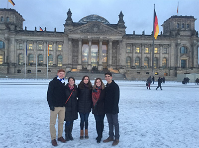 Fielding Fellows traveled to Berlin
