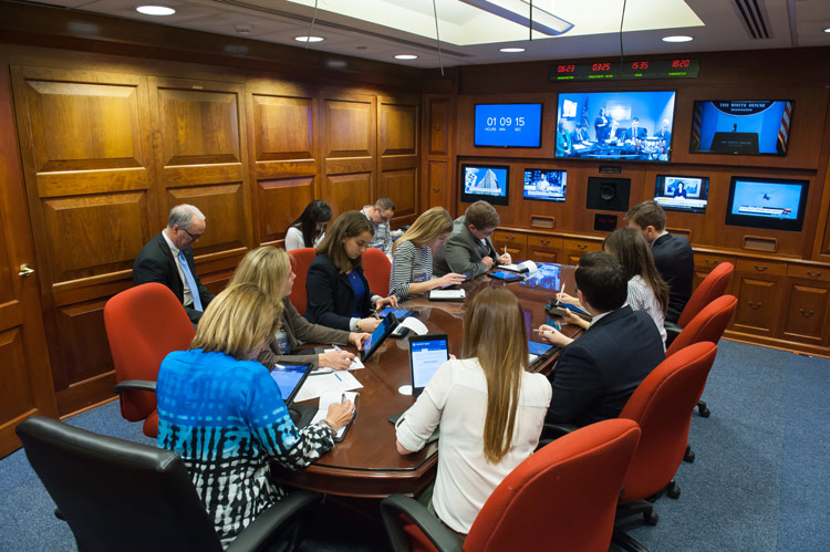 Fielding Fellows in the Situation Room