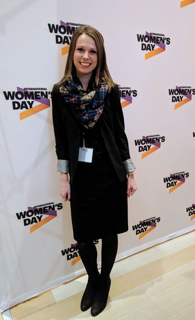 Lorin at IWD Event