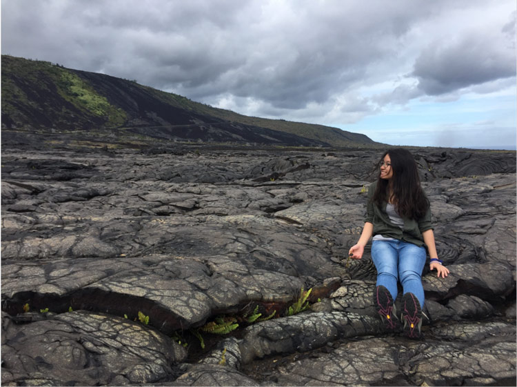 Thy Do on volcanic rock