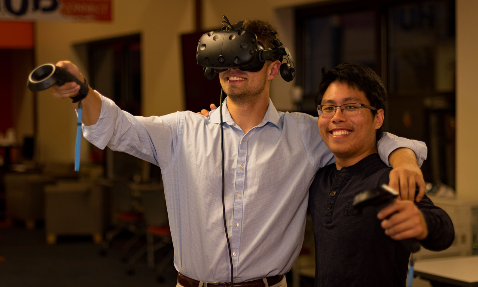 Students created a Virtual Reality Tour of Penn Hall and Lincoln Cemetery
