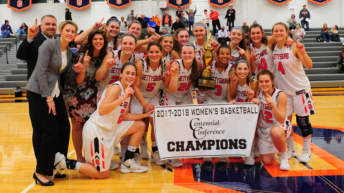 The 2018 Centennial Conference Championship Women's Basketball Team