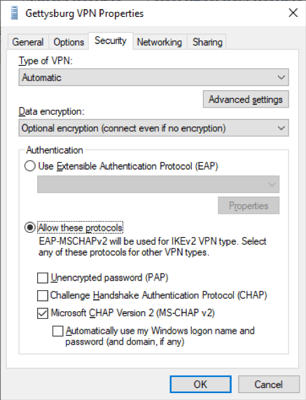 connect to vpn win8