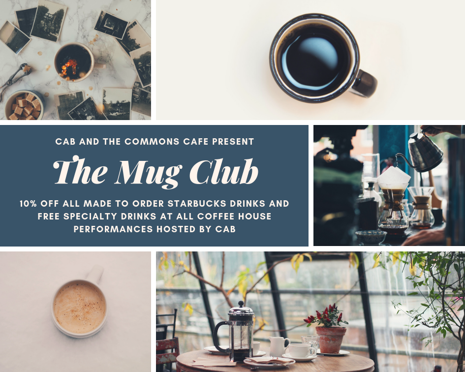 Cab and the commons cafe present