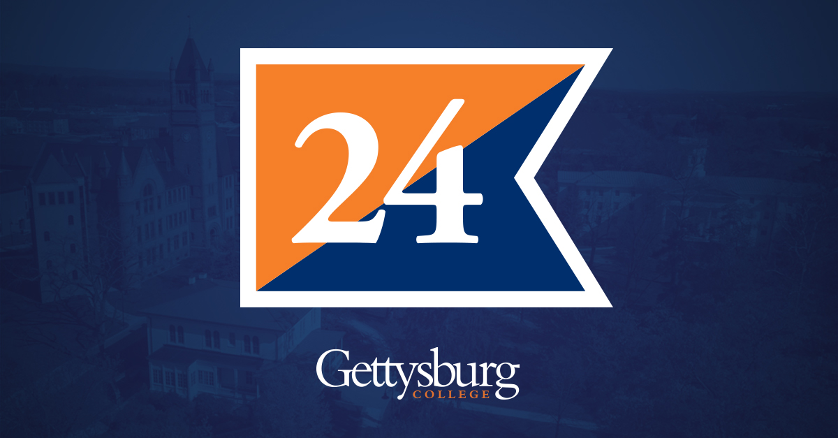 Flag of the Class of '24 - Gettysburg College
