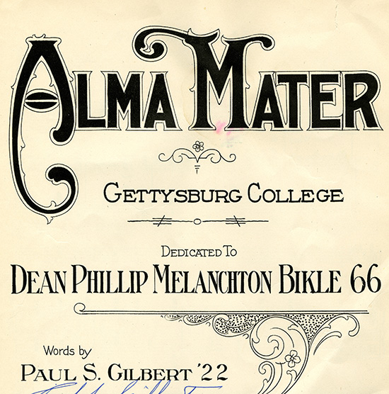 Alma Mater Sheet Music